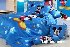 blue mickey mouse bedding sets for boys