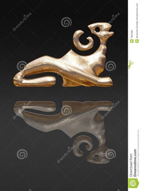 horoscope zodiac gold metal stock photo image 1897680