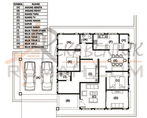 layout rumah 4 bilik design rumah c1 12 4 bilik 2 bilik air 40 x 58