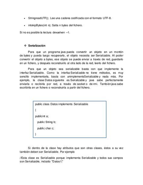 cadena numerica java trabajo sobre archivos en java programacion no numerica ii