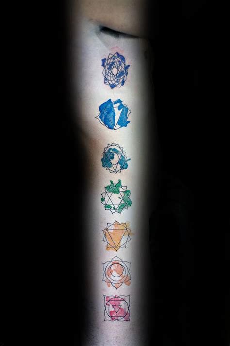 40 chakras tattoo designs for men spiritual ink ideas