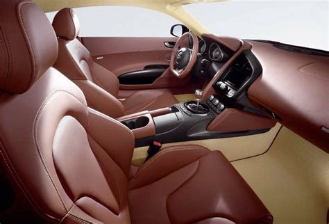 Brown Leather Interior Car by Audi R8 Interior Saddle Brown Leather With Magnolia White