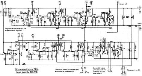 hammond organ wiring schematics get free image about