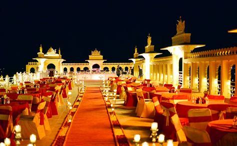Top 5 places in India for a big fat destination wedding
