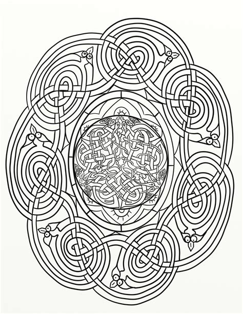celtic knots coloring pages coloring home