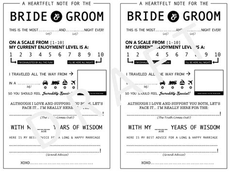 Wedding Mad Libs by As You Live It Wedding Mad Libs