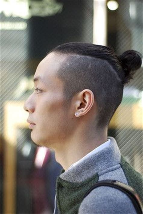 mens hair topknot the undercut bun aka the top knot