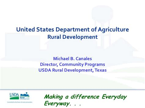 us dept of agriculture rural development usda rural development