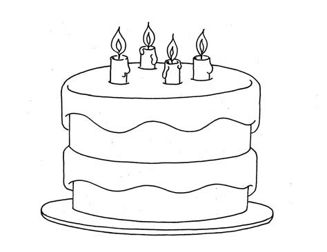 blank cake coloring page cake coloring pages coloringsuite com