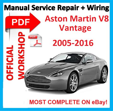 where to buy car manuals 2005 aston martin db9 seat position control official workshop manual service repair for aston martin vantage v8 2005 2015 ebay