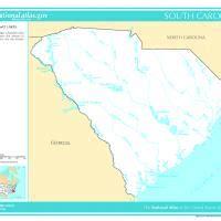 map of carolina rivers and creeks us map south carolina rivers and streams