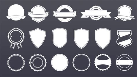 templates for badges badge template freebies gallery
