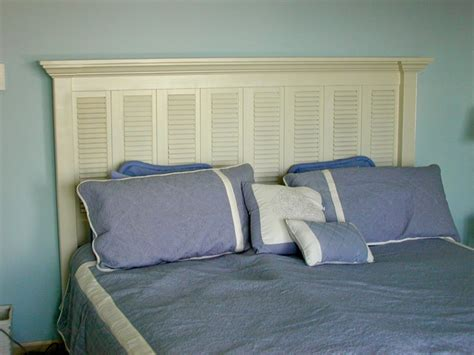 custom king size headboards custom king size headboard built from old window shutters