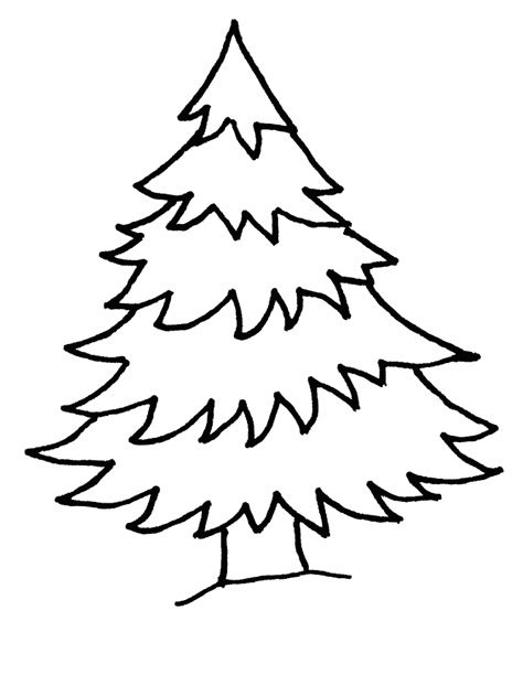 christmas tree coloring pages coloring pages print