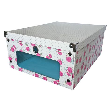 under bed storage boxes floral under bed storage box buy storage boxes at the works