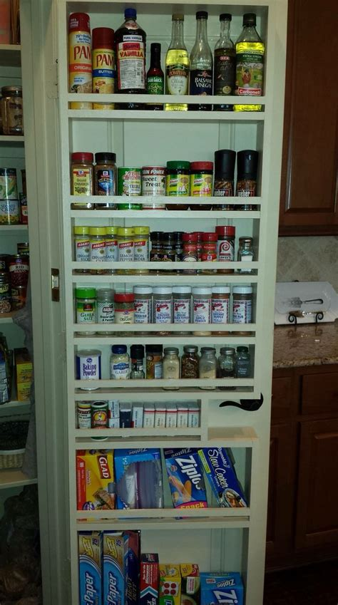 17 best ideas about door spice rack on pantry