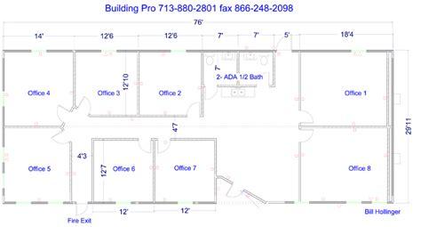 Floor Plans For Commercial Modular Buildings   Restroom