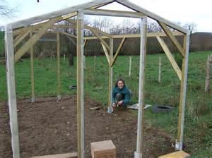 construire une serre de jardin en polycarbonate
