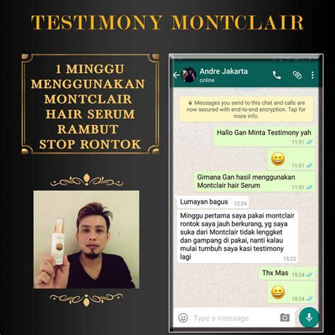 Jual Montclair Hair Serum solusi rambut rontok botak dan tipis aman untuk anak