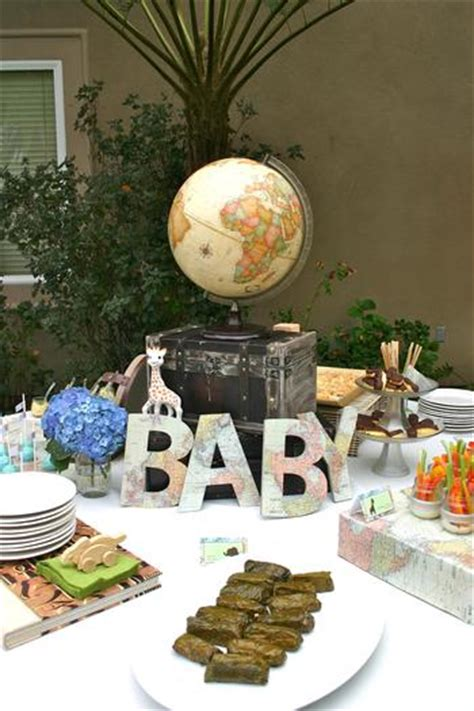 around the world theme decorations around the world baby shower baby shower ideas themes