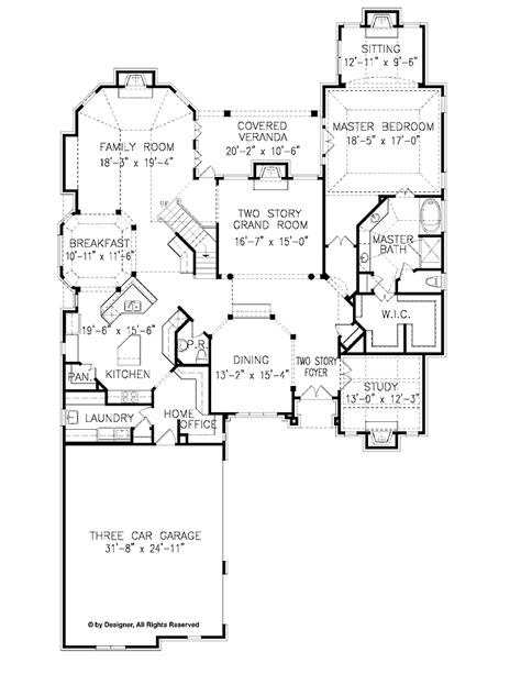 4 bedroom craftsman house plans home plans homepw12824 4 332 square 4 bedroom 4