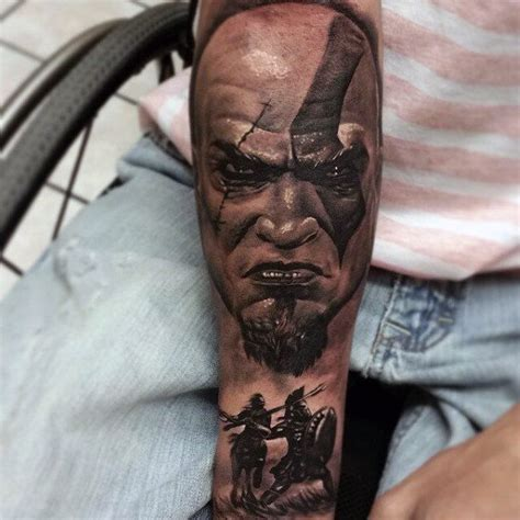 god son tattoo designs 30 kratos designs for god of war ink ideas
