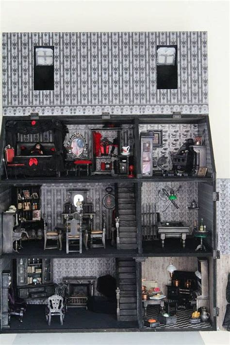 gothic dolls house furniture unique gothic spooky vire mansion dollhouse in 1 12th