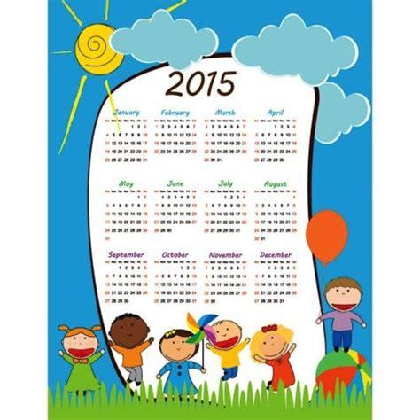 youth calendar template 75 kalender 2015 desain unik jpg printable dan template