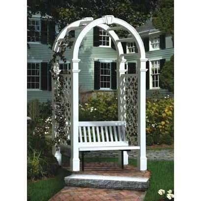arbor with bench seat pin by marcine crozier on for the garden pinterest