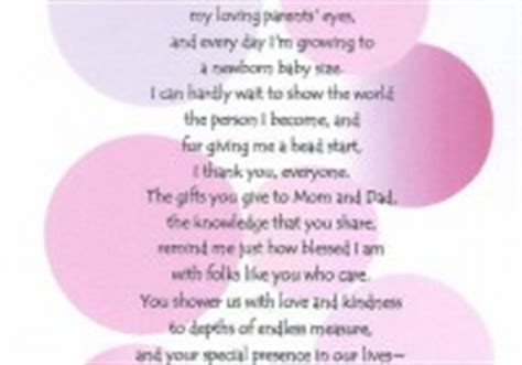 Baby Shower Thank You Poems From Unborn Baby by Baby Shower Thank You Poems From Unborn Baby Baby Shower