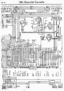 wiring diagram for 1961 chevrolet corvette circuit wiring diagrams