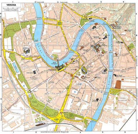 Vicenza 7 In 1 verona mappa della citta veja it