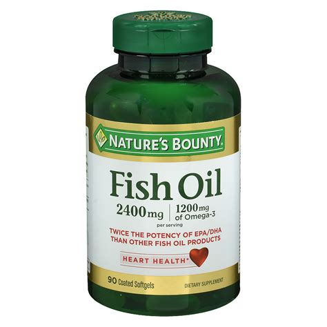 Fish Softgels nature s bounty odorless fish softgels walgreens