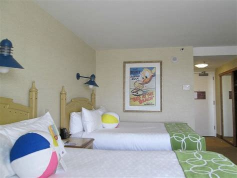 Paradise Pier Hotel Rooms by