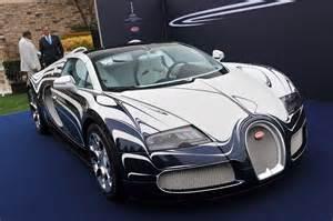 All White Bugatti Bugatti Veyron In White Gold