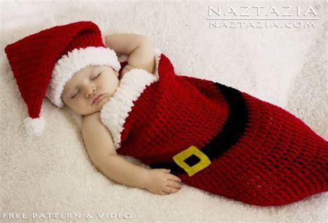 free crochet santa hat for children free pattern santa baby cocoon crochet