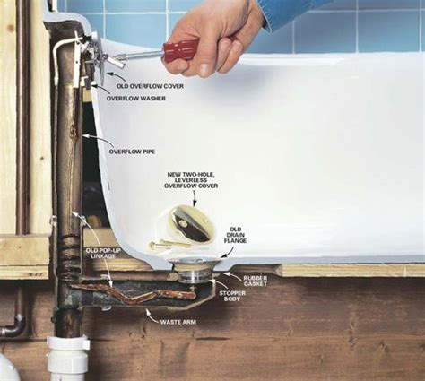 bathtub drain leak plumbing problems plumbing problems bathtub drain