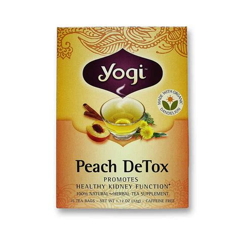Detox Tea Uk by Buy Yogi Tea Organic Teas Detox Organic Tea 16 Bags Uk