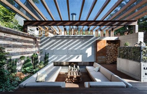 backyard lounge beautiful compact patio lounge zone by svoya studio ukraine