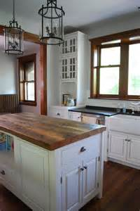 kitchen island wood top reclaimed wood kitchen island top base not included