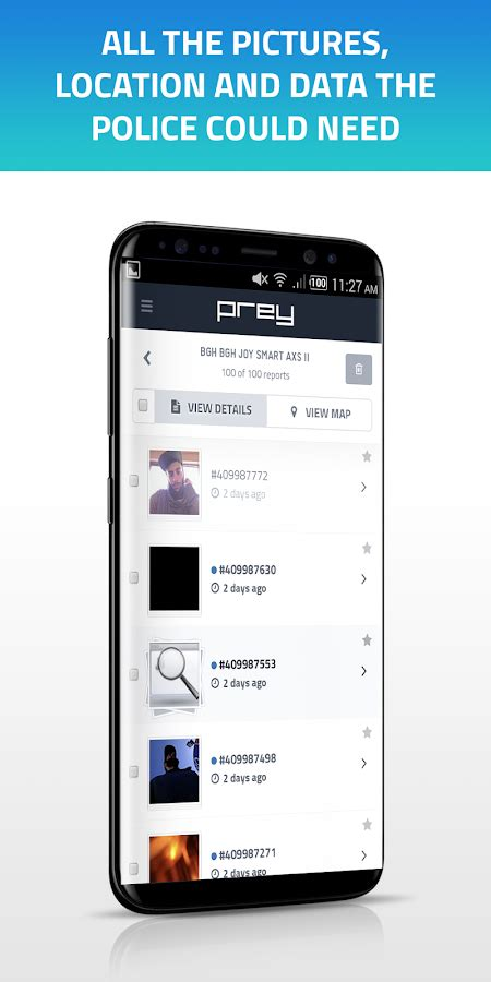 find my android mobile prey anti theft find my android mobile security