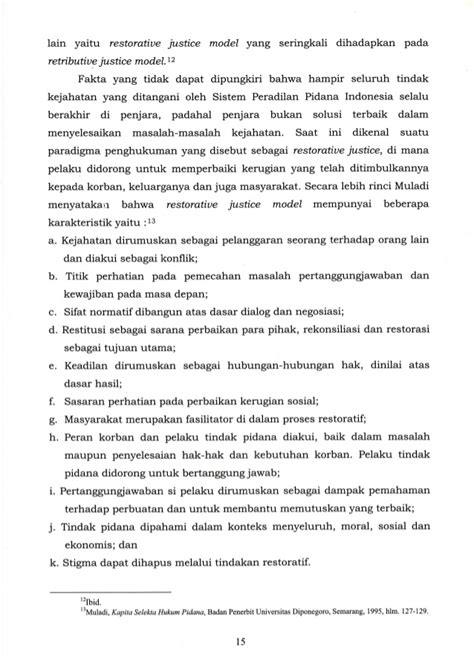 Tindak Pidana Terhadap Hak Atas Kekayaan Intelektual Penerbit Sinar menunggu perubahan dari balik jeruji