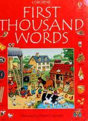 the first thousand words the usborne first thousand words in english 2002 edition open library