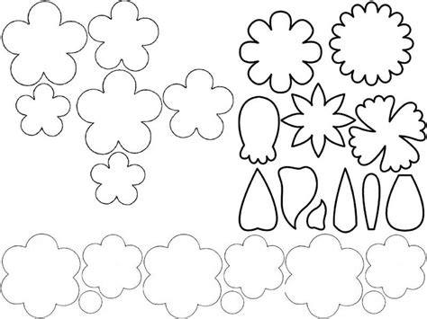 flores moldes para imprimir imagui letras en goma eva moldes imagui