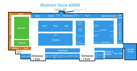 walmart supercenter floor plan walmart supercenter utica ny floorplan v2 3 flickr