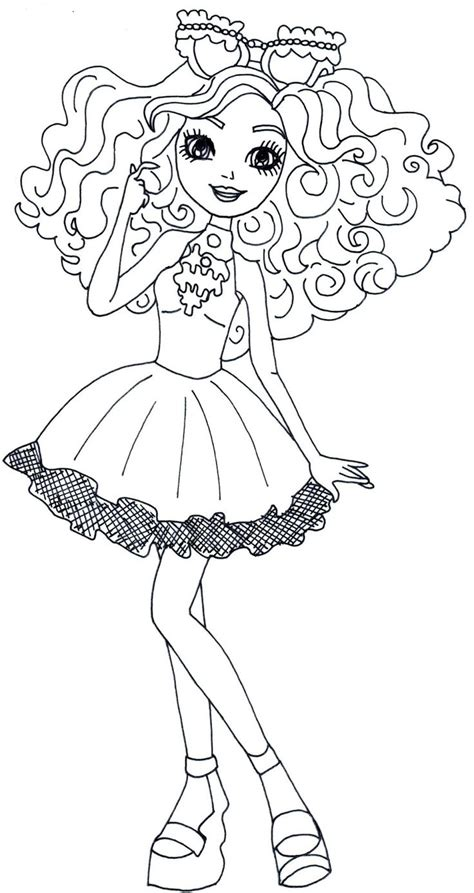 ever after high coloring pages bunny blanc 286 best 2 color ever after high images on pinterest