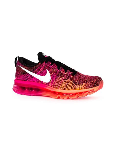 Nike Flyknit Trainer Womennude Pink lyst nike flyknit air max sneakers in pink