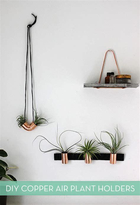 diy air plant holder make it diy minimalist copper air plant holders 187 curbly