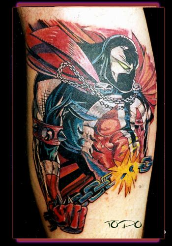 spawn tattoo tuesday spawn black history month series