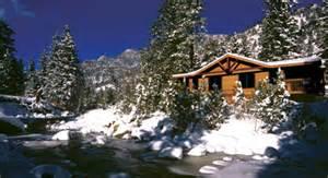 estes park vacation cabins at evegreens on fall river